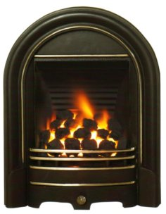 Gas-fireplace-with-pilot-light