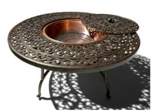 Cast-aluminum-fire-table