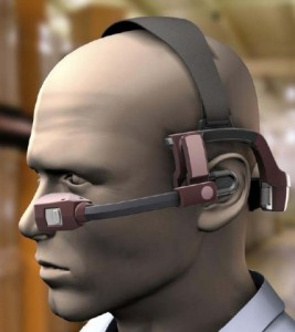 Voice-recognition-headset