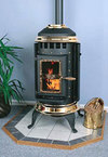 Fireplace Lowdown: Old Fashioned Pellet Stoves
