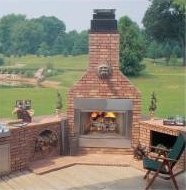 Monessenoutdoorwoodfireplace