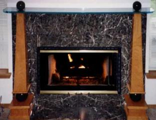 Decomarblestonefireplace