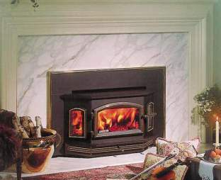 How to convert gas to wwod fireplace fireplaces for Modern wood burning insert